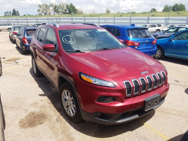 Jeep Cherokee L salvage cars for sale: 2017 Jeep Cherokee L