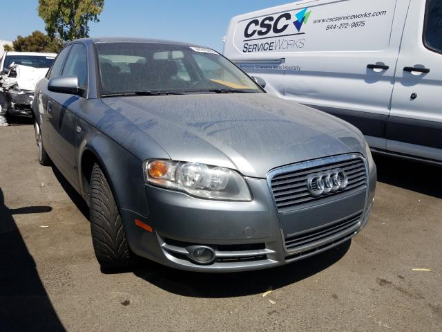 Audi salvage cars for sale: 2007 Audi A4 2