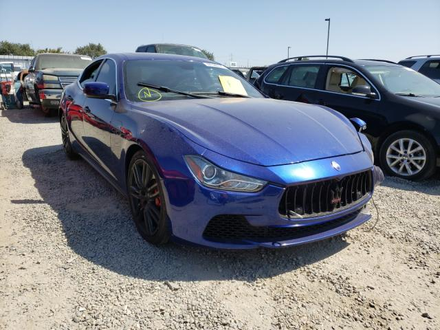 Maserati Ghibli S salvage cars for sale: 2014 Maserati Ghibli S