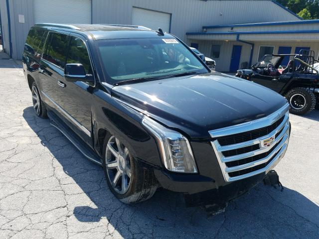 Salvage cars for sale from Copart Hurricane, WV: 2016 Cadillac Escalade E