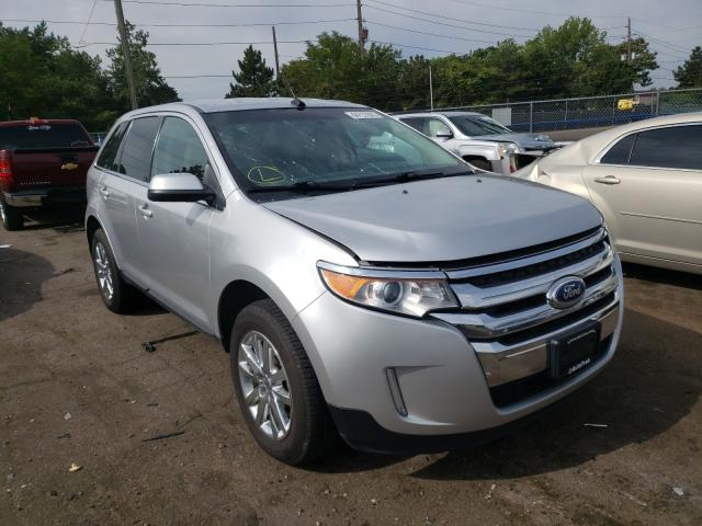 Ford Edge Limited salvage cars for sale: 2014 Ford Edge Limited