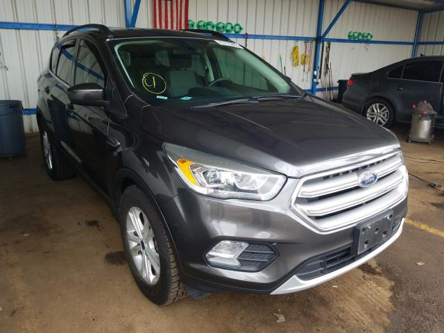 Salvage cars for sale from Copart Colorado Springs, CO: 2017 Ford Escape SE