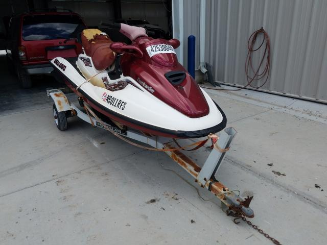 Bombardier salvage cars for sale: 1998 Bombardier SEA DOO