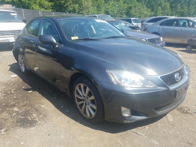 Salvage cars for sale from Copart Waldorf, MD: 2008 Lexus IS 250