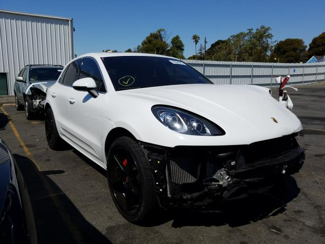 Porsche salvage cars for sale: 2015 Porsche Macan Turbo