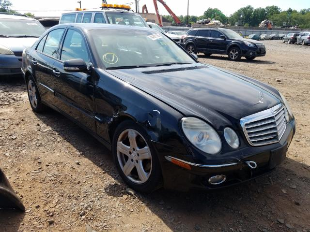 Mercedes-Benz E 350 4matic salvage cars for sale: 2007 Mercedes-Benz E 350 4matic