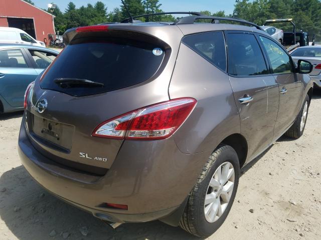 цена в сша 2012 NISSAN MURANO S JN8AZ1MW2CW225489