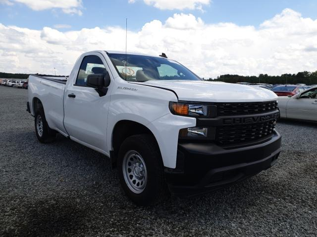 Chevrolet salvage cars for sale: 2019 Chevrolet Silverado