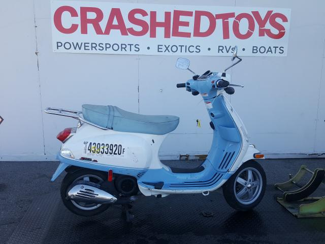 Salvage cars for sale from Copart Van Nuys, CA: 2011 Vespa LX 150IE