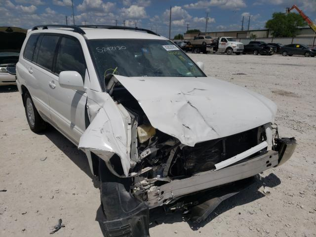 Salvage cars for sale from Copart Haslet, TX: 2004 Toyota Highlander