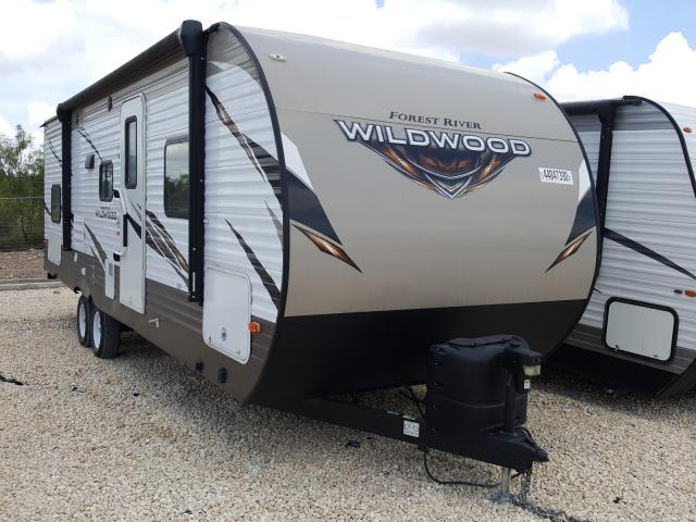 Wildcat salvage cars for sale: 2018 Wildcat Travel Trailer
