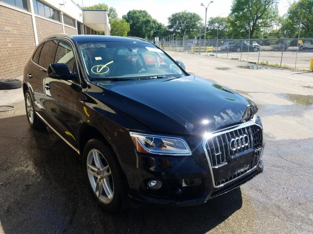Audi Q5 salvage cars for sale: 2017 Audi Q5