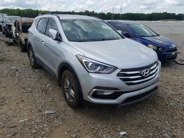 Salvage cars for sale at Memphis, TN auction: 2018 Hyundai Santa FE S