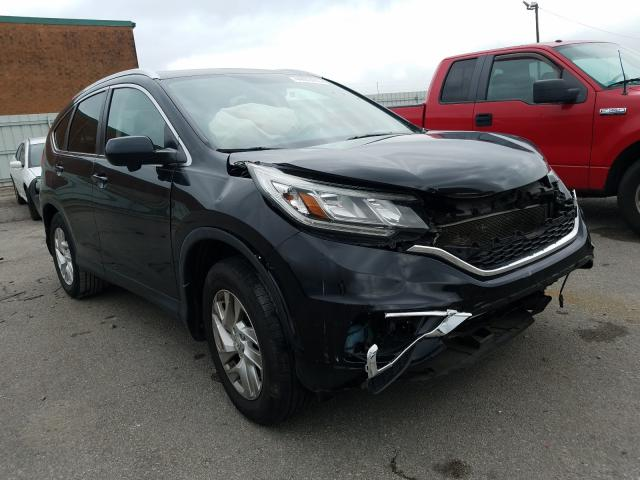 Salvage cars for sale from Copart Lexington, KY: 2015 Honda CR-V EXL
