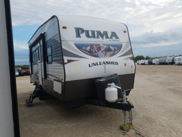 Wildwood Puma salvage cars for sale: 2015 Wildwood Puma