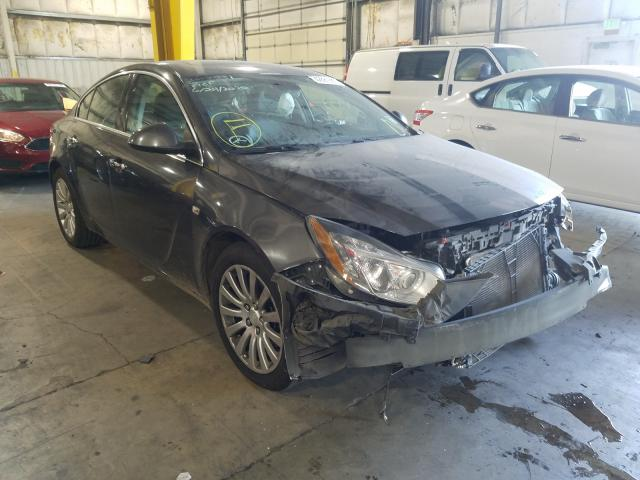 Salvage cars for sale from Copart Woodburn, OR: 2011 Buick Regal CXL