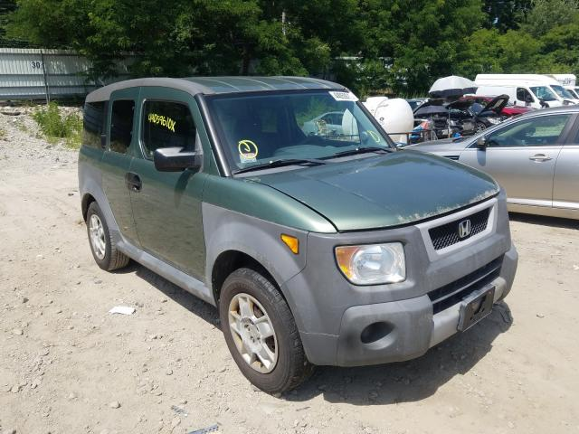 Honda Element LX salvage cars for sale: 2005 Honda Element LX