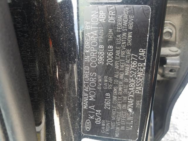 2015 KIA FORTE EX KNAFX5A80F5276677