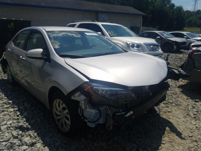 Salvage cars for sale from Copart Mebane, NC: 2017 Toyota Corolla L
