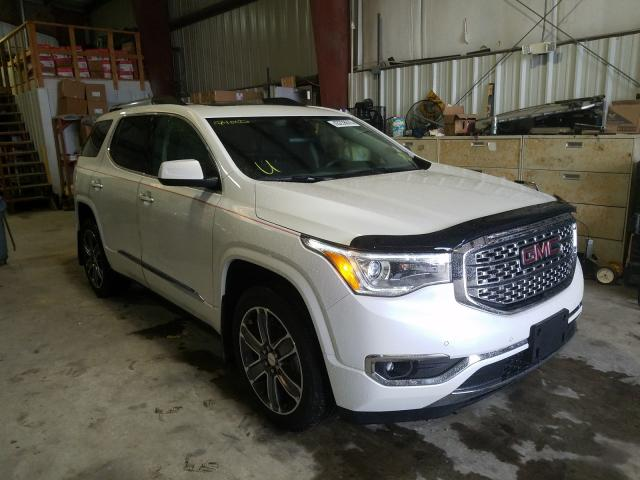 Salvage cars for sale from Copart New Orleans, LA: 2019 GMC Acadia DEN