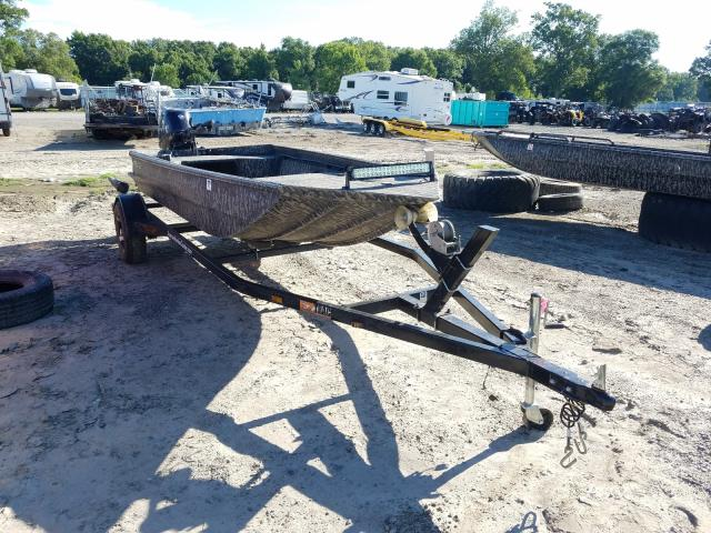 Salvage boats for sale at Conway, AR auction: 2019 Edge Trailor