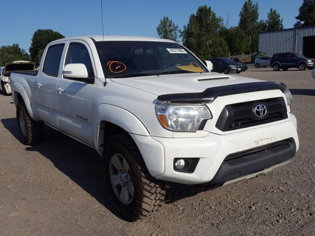 Salvage cars for sale from Copart Portland, OR: 2014 Toyota Tacoma DOU