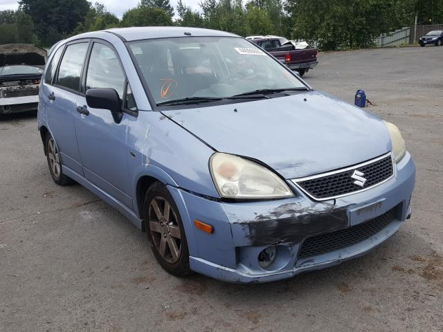 Suzuki salvage cars for sale: 2006 Suzuki Aerio
