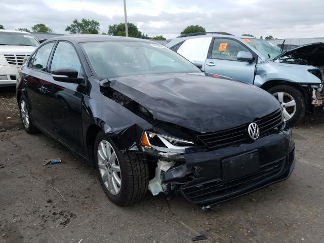 Salvage cars for sale from Copart Cudahy, WI: 2011 Volkswagen Jetta SE
