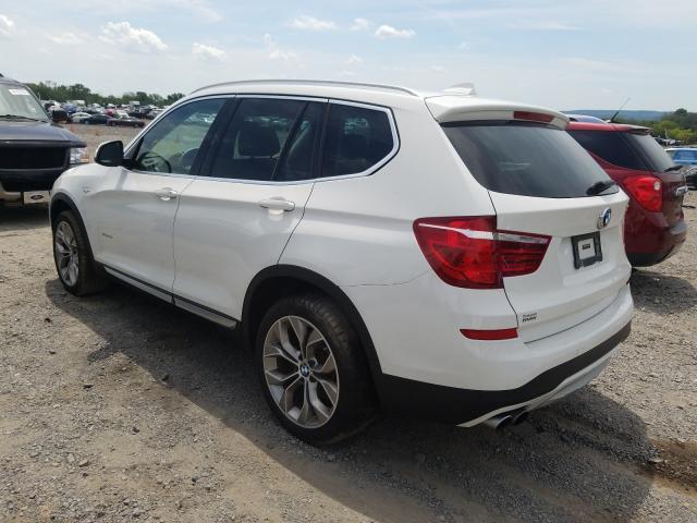 купить 2017 BMW X3 XDRIVE28I 5UXWX9C35H0W76096