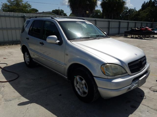 Mercedes-Benz ML 320 salvage cars for sale: 2000 Mercedes-Benz ML 320