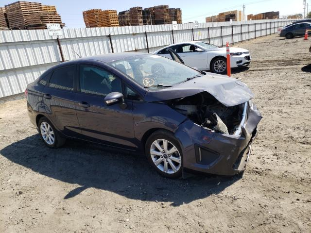 Ford Fiesta SE salvage cars for sale: 2013 Ford Fiesta SE