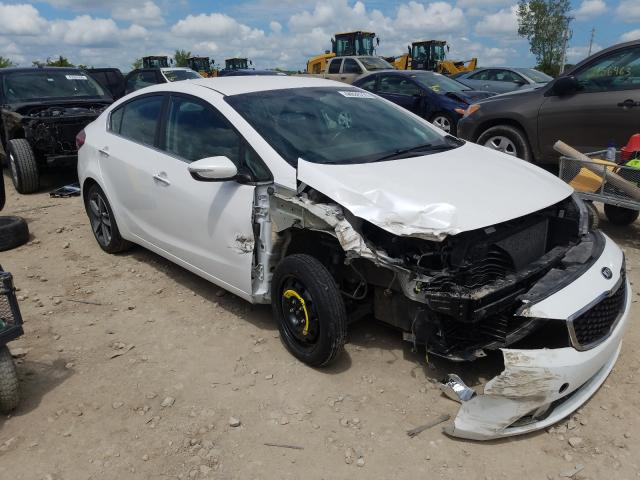KIA Forte EX salvage cars for sale: 2017 KIA Forte EX