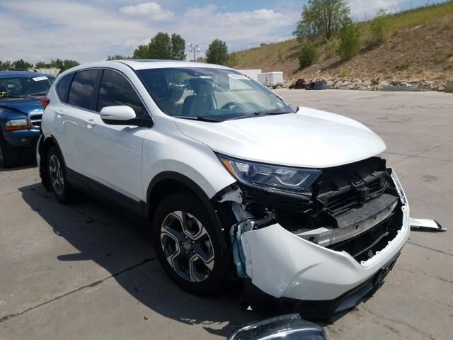 Honda salvage cars for sale: 2019 Honda CR-V EX