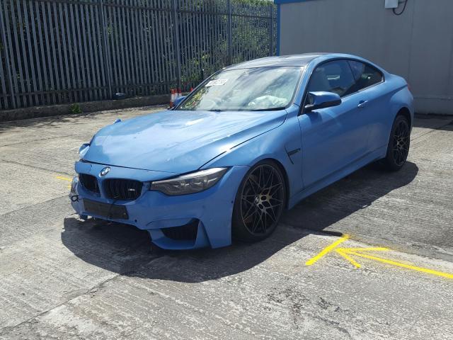 BMW M4 COMPETI - 2020 rok