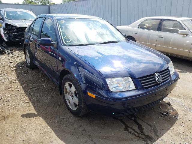 Salvage cars for sale from Copart Cudahy, WI: 2001 Volkswagen Jetta GLS