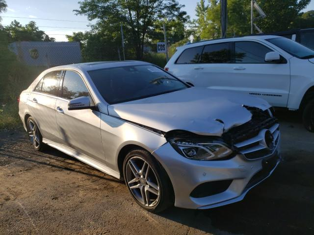 Mercedes-Benz E 350 4matic salvage cars for sale: 2016 Mercedes-Benz E 350 4matic