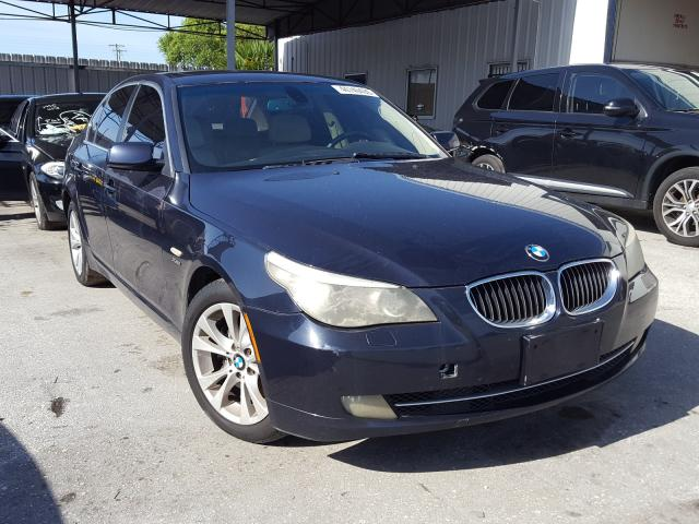 BMW salvage cars for sale: 2009 BMW 535 XI