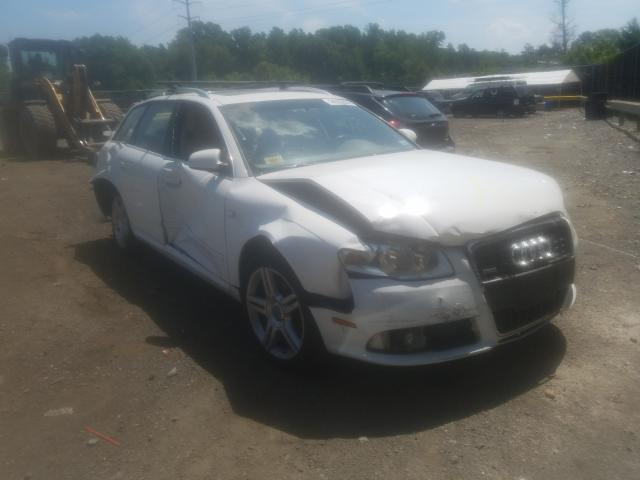 Salvage cars for sale from Copart Waldorf, MD: 2008 Audi A4 2.0T AV