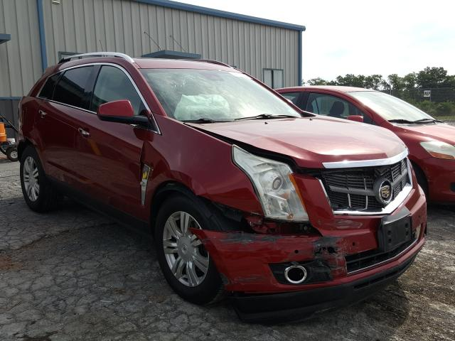 Cadillac SRX Luxury salvage cars for sale: 2012 Cadillac SRX Luxury