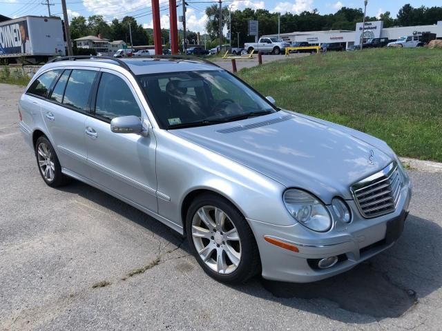 Mercedes-Benz E 350 4matic salvage cars for sale: 2009 Mercedes-Benz E 350 4matic