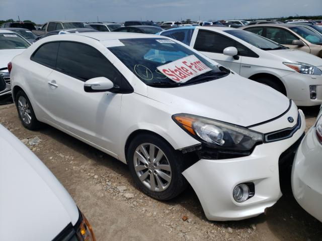 KIA Forte EX salvage cars for sale: 2015 KIA Forte EX