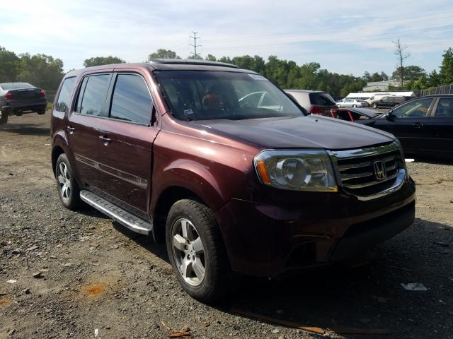 Salvage cars for sale from Copart Waldorf, MD: 2013 Honda Pilot Touring