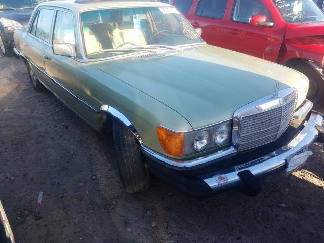 Mercedes-Benz 400 SEL salvage cars for sale: 1976 Mercedes-Benz 400 SEL