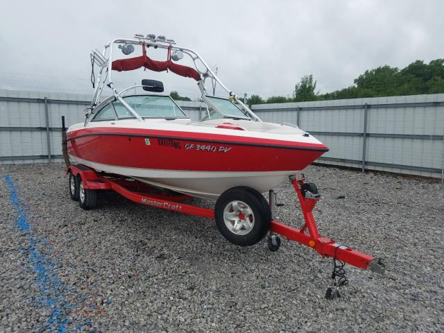 Salvage boats for sale at Prairie Grove, AR auction: 2002 Mastercraft X-30