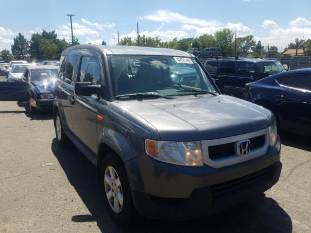 Honda Element EX salvage cars for sale: 2010 Honda Element EX