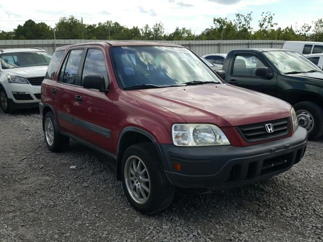 Honda CR-V LX salvage cars for sale: 1997 Honda CR-V LX