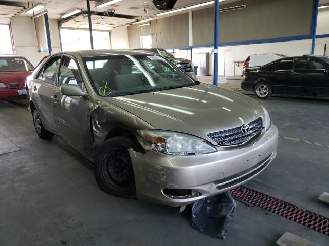 Salvage cars for sale from Copart Pasco, WA: 2002 Toyota Camry LE
