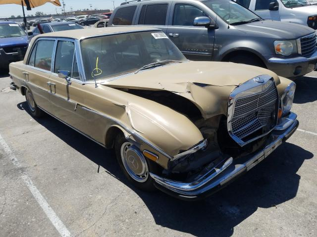 Mercedes-Benz 300 salvage cars for sale: 1971 Mercedes-Benz 300
