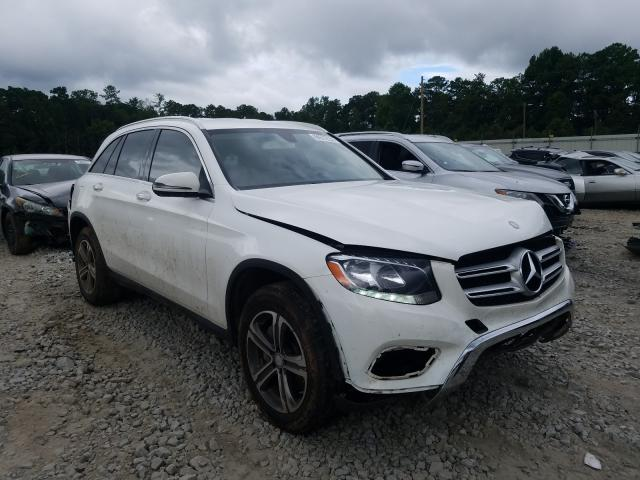 Mercedes-Benz GLC 300 salvage cars for sale: 2017 Mercedes-Benz GLC 300
