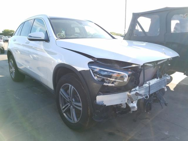 Mercedes-Benz GLC 300 salvage cars for sale: 2020 Mercedes-Benz GLC 300